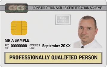 White CSCS Card
