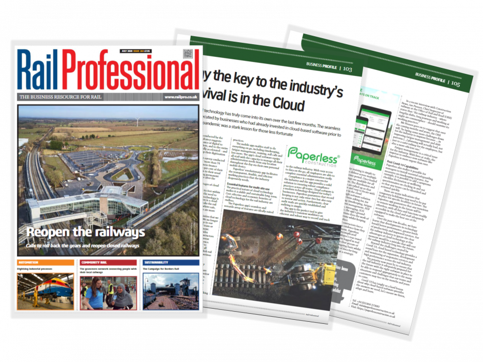 Rail Professional Paperless Cloud